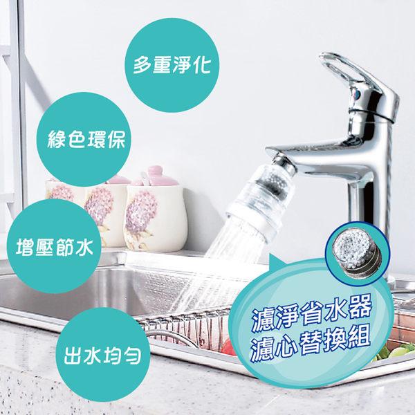 【神膚奇肌】360度龍頭濾淨省水器濾心2入(廚房衛浴專用機型)