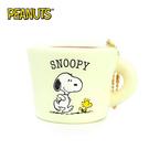 白色款【日本進口】史努比 Snoopy 咖啡杯 捏捏吊飾 吊飾 捏捏樂 軟軟 PEANUTS squishy 捏捏 - 620392