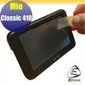 【Ezstick】Mio Classic 410 專利動態預警 GPS測速導航系統 靜電式LCD液晶螢幕貼 (AG霧面)
