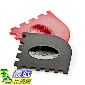 [104美國直購] Lodge Manufacturing SCRAPERGPK Grill Pan Scraper, 2-Pack 鑄鐵鍋 刮刀_CB1