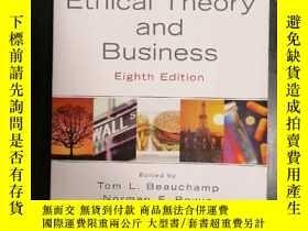 二手書博民逛書店Ethical罕見Theory and BusinessY235516