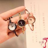 手錶 網紅手錶女學生韓版簡約潮流ulzzang少女小清新手鍊式手鐲開口式