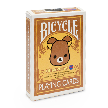 【USPCC 撲克】BICYCLE Rilakkuma Be@rbrick 拉拉熊 撲克牌
