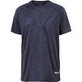 Puma Ace Heathered 男 藍 運動短袖 短T 慢跑 吸濕 排汗 休閒 健身 軟感 彈性 短袖 51665006