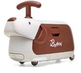 韓國 Bontoy Traveller 紅點設計美學騎乘行李箱-咖啡色米格魯