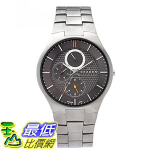 [美國直購] SKAGEN 806XLTXM TITANIUM ANALOG DRESS GREY DIAL DAY & DATE MEN S WATCH NEW 手錶