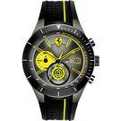 Scuderia Ferrari 法拉利 RedRev Evo 計時手錶-灰x黑/46mm 0830342
