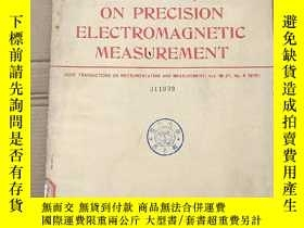二手書博民逛書店1978罕見conference on precision electromagnetic measurement