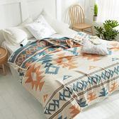 四層純棉柔軟紗布單雙人毛巾被蓋毯夏季空調房情侶款成人全棉睡毯 艾尚旗艦店