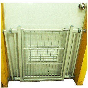 【培菓幸福寵物專營店】王品 可伸縮樓梯柵欄 C1(樓梯間 房間門口 門欄 安全門 76~90cm) 方便安裝