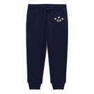 Gap女裝 童趣徽標印花鬆緊腰休閒褲 515482-海軍藍色