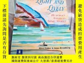 二手書博民逛書店LIGHT罕見AND LIVELY HUMOROUS AMERI