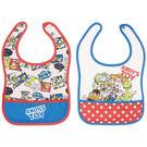 日本 迪士尼 Disney 玩具總動員寬版圍兜兜(2件組)