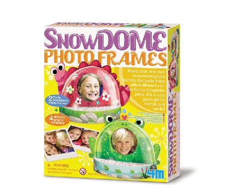 【4M】04593 美勞創意-雪花相框 Snow Dome Photo Frames