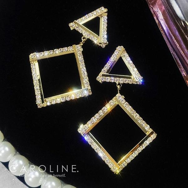 《Caroline》★韓國熱賣造型時尚   質感精緻‧展現迷人氣質 耳環70406
