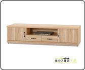 {{ 海中天休閒傢俱廣場 }} F-08 摩登時尚 客廳系列 282-818 原切橡木浮雕6尺電視櫃