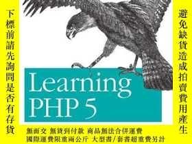 二手書博民逛書店Learning罕見PHP 5-學習PHP5Y443421 David Sklar (Edit... O Re