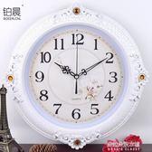 掛鐘臥室客廳辦公靜音鐘錶簡約創意時鐘時尚錶  朵拉朵衣櫥
