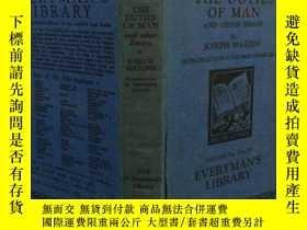 二手書博民逛書店the罕見duties of man 人的職責Y270819 J