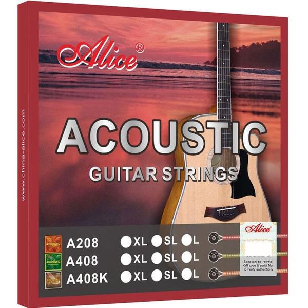 小叮噹的店 ALICE A208 高級木吉他弦 套弦 磷青銅色 鍍鎳珠頭