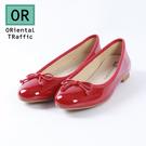 經典名品風格芭蕾舞鞋-經典紅(8604_RD)