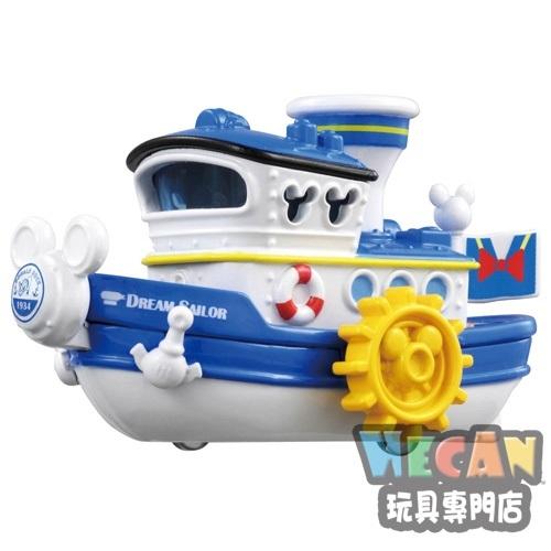 TOMICA多美迪士尼小汽車 DM-06 唐老鴉蒸汽船 (DISNEY MOTORS) 15266