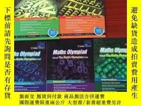 二手書博民逛書店Maths罕見Olympiad Unleash The Maths Olympian In You ! 數學奧林匹
