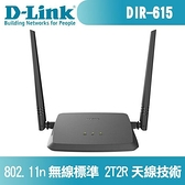 D-Link 友訊 DIR-615+ N300無線路由器