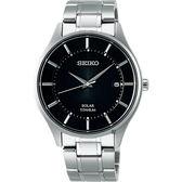 【分期0利率】SEIKO 精工錶 SPIRIT 鈦金屬 光動能 藍寶石水晶鏡面 V157-0BX0D 日本製 SBPX103J