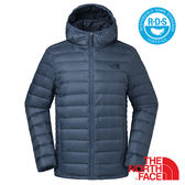 【美國 The North Face】男 鵝絨保暖外套『藍』NF0A35E7 羽絨 700蓬鬆 兩面穿