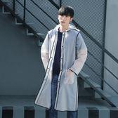 旅行透明雨衣成人外套裝男女式學生時尚戶外徒步雨披長款便攜【免運+滿千折百】