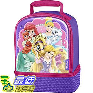 [美國直購] Thermos K35170006 迪士尼 公主 兒童午餐袋 午餐包 Dual Compartment Lunch Kit, Princess Palace