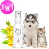 【愛戀花草】伊蘭花精油 護色瑩彩寵物香水 250ML《買一送一/共兩瓶》