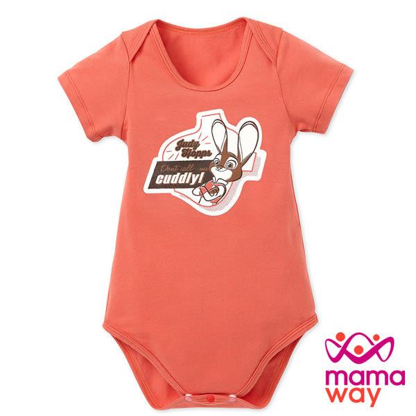 【mamaway媽媽餵】迪士尼動物方程式包屁衣 短袖包屁衣 寶寶服