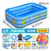 兒童游泳池充氣加厚家用室內小孩超大戶外大型水池嬰兒家庭洗澡池 NMS 快意購物網