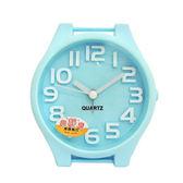 無敵王 糖果色手錶造型立體數字鬧鐘SV-1314-B