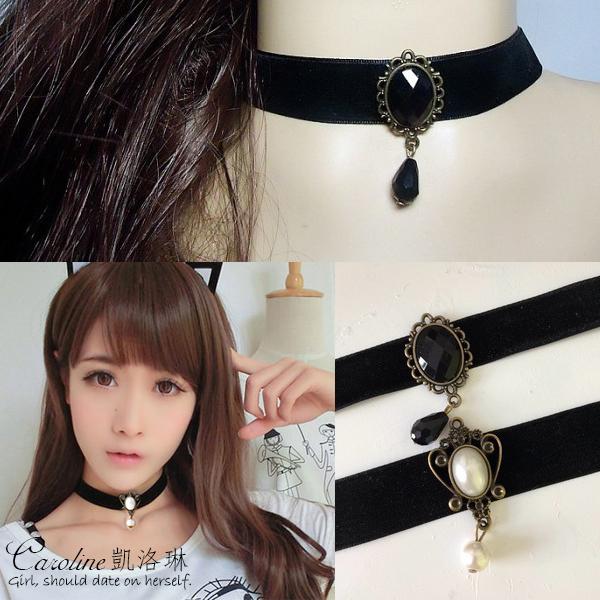 《Caroline》★韓國熱門戲劇.明星同款時尚風格項鍊68112