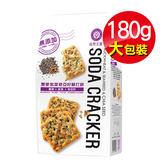 專品藥局 自然主意 蕎麥紫菜蘇打餅 180g【2011617】