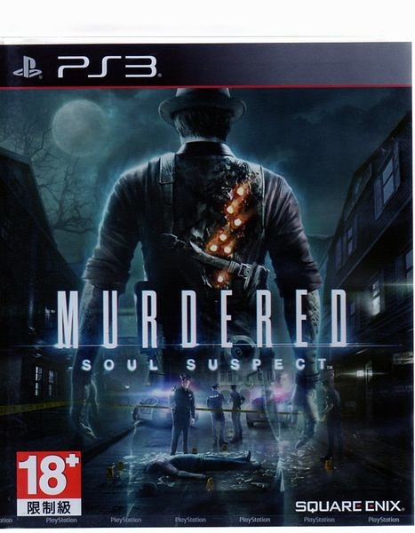 現貨中PS3 遊戲 靈魂追兇 Murdered Soul Suspect 英文亞版【玩樂小熊】