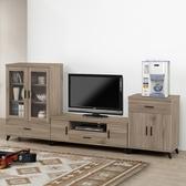 【森可家居】珂琪8 6 尺中低櫃8ZX590 2 客廳高低櫃展示櫃電視櫃木紋 北歐工業風