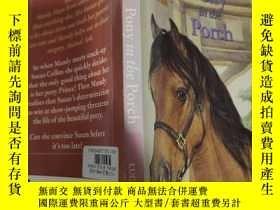 二手書博民逛書店pony罕見in the porch 門廊裏的小馬..Y200392