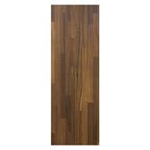 美耐面E1層板120x20x1.8cm-胡桃木拼接紋