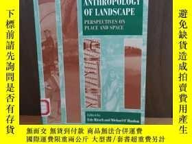 二手書博民逛書店The罕見Anthropology of Landscape: