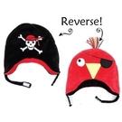 Flapjack kids雙面保暖造型帽-海盜/鸚鵡LUV0130[衛立兒生活館]