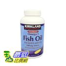 [COSCO代購]  KS新型緩魚油軟膠...