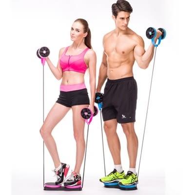 多功能拉力器彈力繩-健腹輪扭腰盤重量訓鍊健身用品2色73pp280【時尚巴黎】