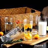 咖啡杯玻璃杯子套裝水杯果汁啤酒杯牛奶喝水杯耐熱泡茶無蓋客廳茶杯家用  朵拉朵衣櫥