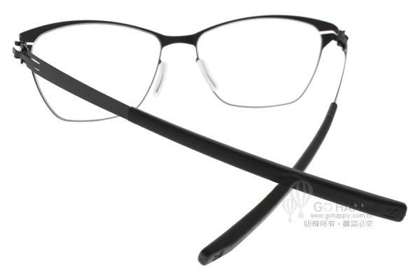 Ic! Berlin 光學眼鏡 ROSEMARIES S BLACK (黑) 簡約百搭款 薄鋼眼鏡 # 金橘眼鏡