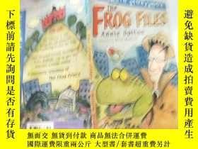 二手書博民逛書店the罕見frog files annie dalton 青蛙銼安妮道爾頓..Y200392