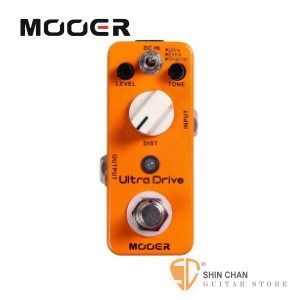 【經典破音效果器】【Mooer Ultra Drive 】【Micro系列】【Distortion Pedal】